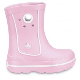 Crocs Kids Jaunt Boot Bubblegum, Lightweight and funky sneakered inspired waterproof boot