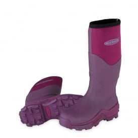 The Muck Boot Company Greta Fuchsia, Ideal for muddy fields