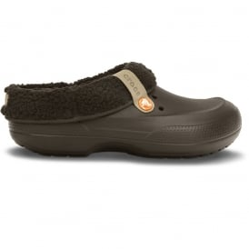 Crocs Blitzen II Clog Espresso/Espresso, easy to remove liner