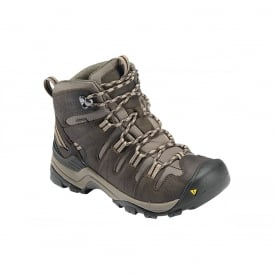 KEEN Womens Gypsum Mid Black Olive/Chocolate Brown, Increased stability to go the miles