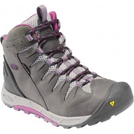 KEEN Womens Bryce Mid WP Dark Shadow/Hollyhock, Lightweight hiking for worldwide excursions