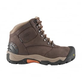 KEEN Mens Revel II Coffee Bean/Rust, All-purpose winter boot with advanced insulation system