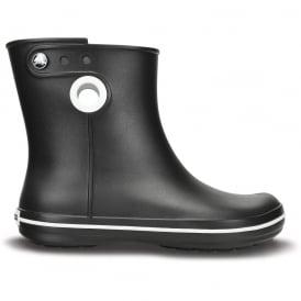 Crocs Jaunt Shorty Boot Black, Fully molded Croslite mid height waterproof boot