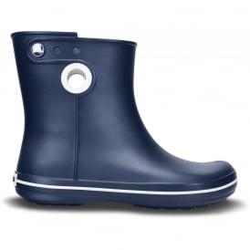 Crocs Jaunt Shorty Boot Navy, Fully molded Croslite mid height waterproof boot