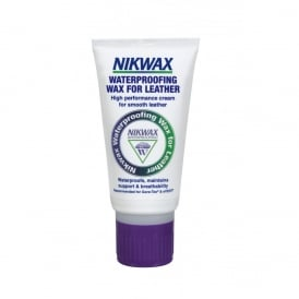 Nikwax Waterproofing Wax for Leather Cream 60ml, High performance waterproofing that can be applied to wet or dry leather giving immediate protection