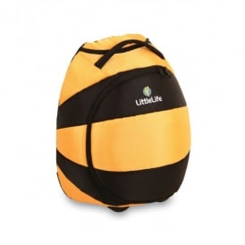 LittleLife Animal Wheelie Duffle Bee, fun suitcase for little adventurers