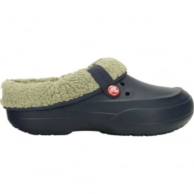 Crocs Blitzen II Clog Navy/Clay, easy to remove liner