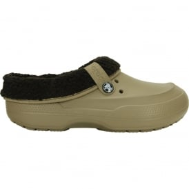 Crocs Blitzen II Clog Khaki/Espresso, easy to remove liner