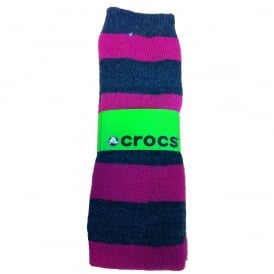 Crocs Socks Pink/Grey