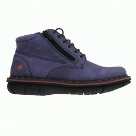 The Art Company 0434 Assen Boot Overland Violet, Stylish leather ankle boot