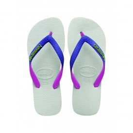 Havaianas Top Mix White/Purple, Two Tone Straps