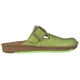 El Naturalista ND40 Clog Green, recycled insoles with a polyurethane base that contributes towards increased comfort