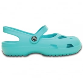 Crocs Girls Shayna Pool, Stylish sling-back flat with room for jibbitz