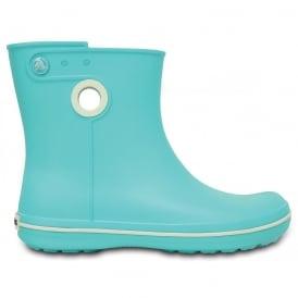 Crocs Jaunt Shorty Boot Pool, Fully molded Croslite mid height waterproof boot