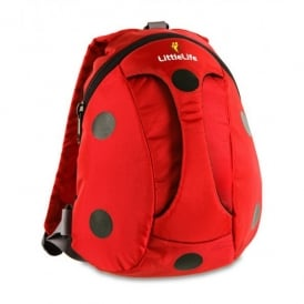 LittleLife Toddler Active Grip Daysack Ladybird, ideal for bike or scooter learners!!