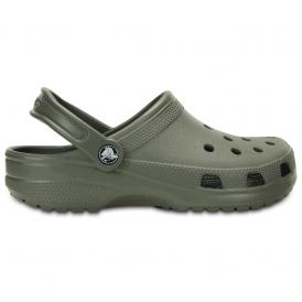 Classic Shoe Dusty Olive, Original Crocs slip on shoe