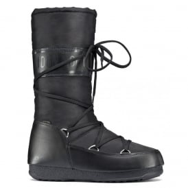 MoonBoot Moon Boots Soft Shade Black, Waterproof Iconic Boot