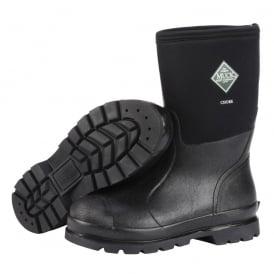 The Muck Boot Company Chore MID Black, Mid length work wellington