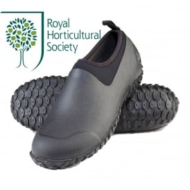 The Muck Boot Company Mens Muckster II Low Black/Black, a new sole for more stability in mud, slush or rain!
