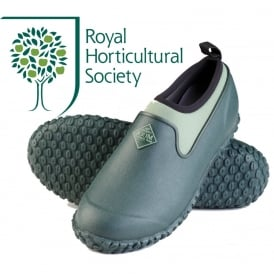 The Muck Boot Company Womens Muckster II Low Green, new sole for even better contact with wet surfaces!
