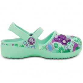 Karin Butterfly Clog New Mint, a prettier & more feminine take on a Crocs clog