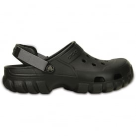 Crocs Offroad Sport Clog Black/Graphite, the comfort of a classic but with a rugged look & adjustable heel strap