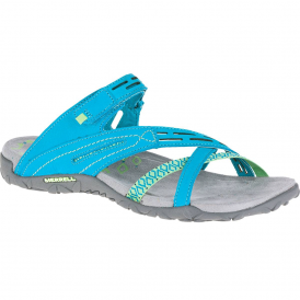 Merrell Terran Weave II Teal, breathable mesh & leather sandal