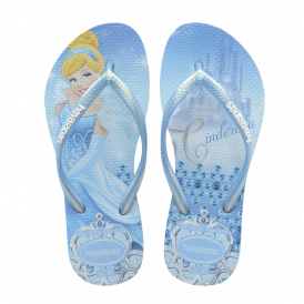 Havaianas Youth Slim Princess Cinderella Lavender Blue, made for Princesses