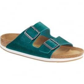 Arizona 57681 Oiled Leather Turquoise, oiled leather classic Birkenstock sandal