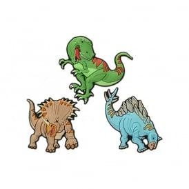 Jibbitz DIN Dinosaur 3 Pack