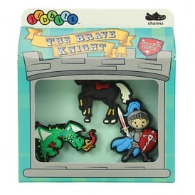 Jibbitz ITF In The First Boys (The Brave Knight) 3 Pack
