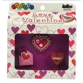 Jibbitz Valentine 3 Pack