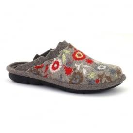 Romika Mikado 88 Beige-Multi, comfort shoe with hardwearing outer sole