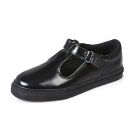 Kickers Tovni T Junior Patent Black
