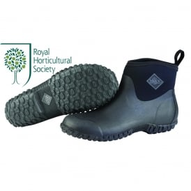 The Muck Boot Company Womens Muckster II Ankle Black/Black, new sole for even better contact with wet surfaces!