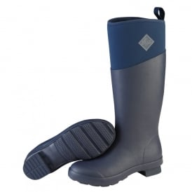 The Muck Boot Company Womens Tremont TALL Total Eclipse (Navy), Fashion & Performance  Wellington