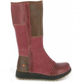 The Art Company 1025 Heathrow Boot Rioja, tall leather boot