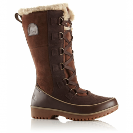 Sorel Tivoli High II Boot NL2093 Tobacco, waterproof lace up boot