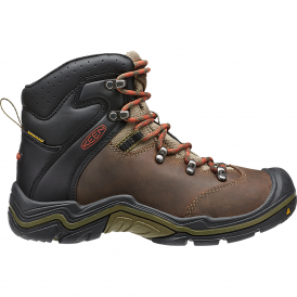 KEEN Youth Torino Mid WP Cascade Brown/Burnt Ochre, tough waterproof hiking boot