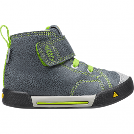 KEEN Kids Encanto Scout High Top Black/Macaw, easy on and off high tops