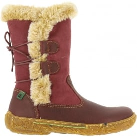 El Naturalista E755 Nido Rioja, leather boot with warm lining