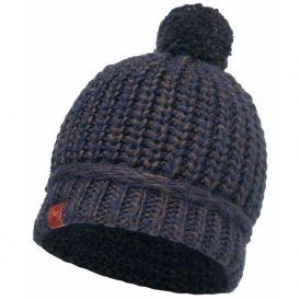 Buff Dean Knitted Hat Navy, warm and soft knitted hat