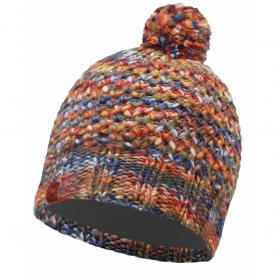 Buff Margo Hat Orange, warm and soft knitted hat