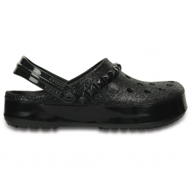 Crocs Crocband Studded Clog Black, an edgy take on the classic Crocband
