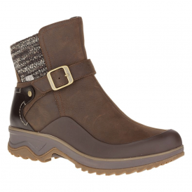 Merrell Womens Eventyr Strap WP Clay, waterproof ankle boot