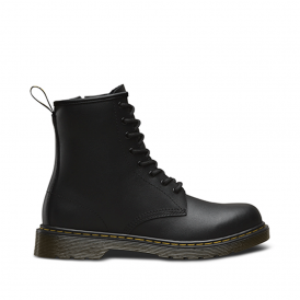 Dr Martens Delaney Boot Youth Black, the classic for smaller feet