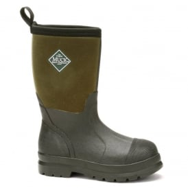 The Muck Boot Company Kids Chore Moss, the classic Chore wellington now sized for boys and girls