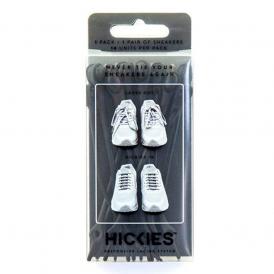 Hickies Black/Black Pack, elastic lacing system turns sneakers into slip-ons!