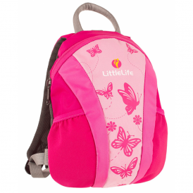 LittleLife 10782 Toddler Daysack Runabout Pink, the original toddler backpack with reins