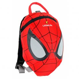 LittleLife 10990 Toddler Daysack Spiderman, fun rucksack with reins